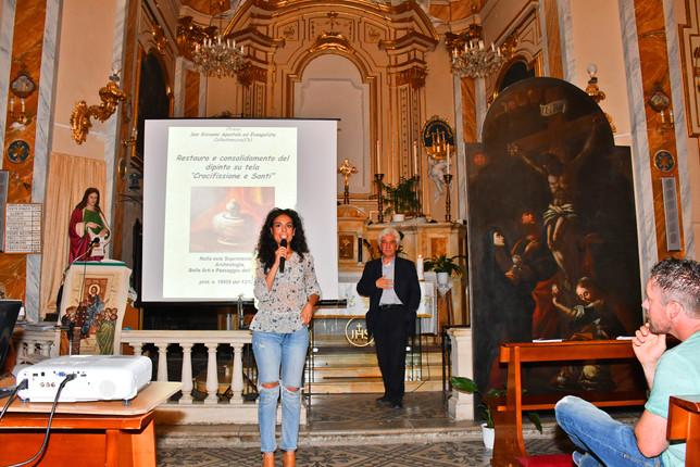 Jessica D'Alonzo presenta l'opera