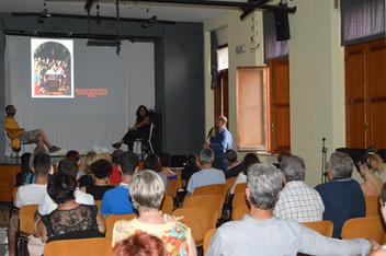 Il pubblico alla conferenza