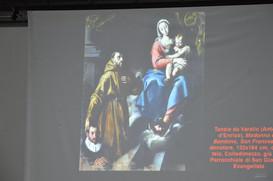 """Il quadro di Tanzio da Varallo proiettato alla conferenza """"Tanzio da Varallo: un pittore tra le Alpi e la Majella"""""""