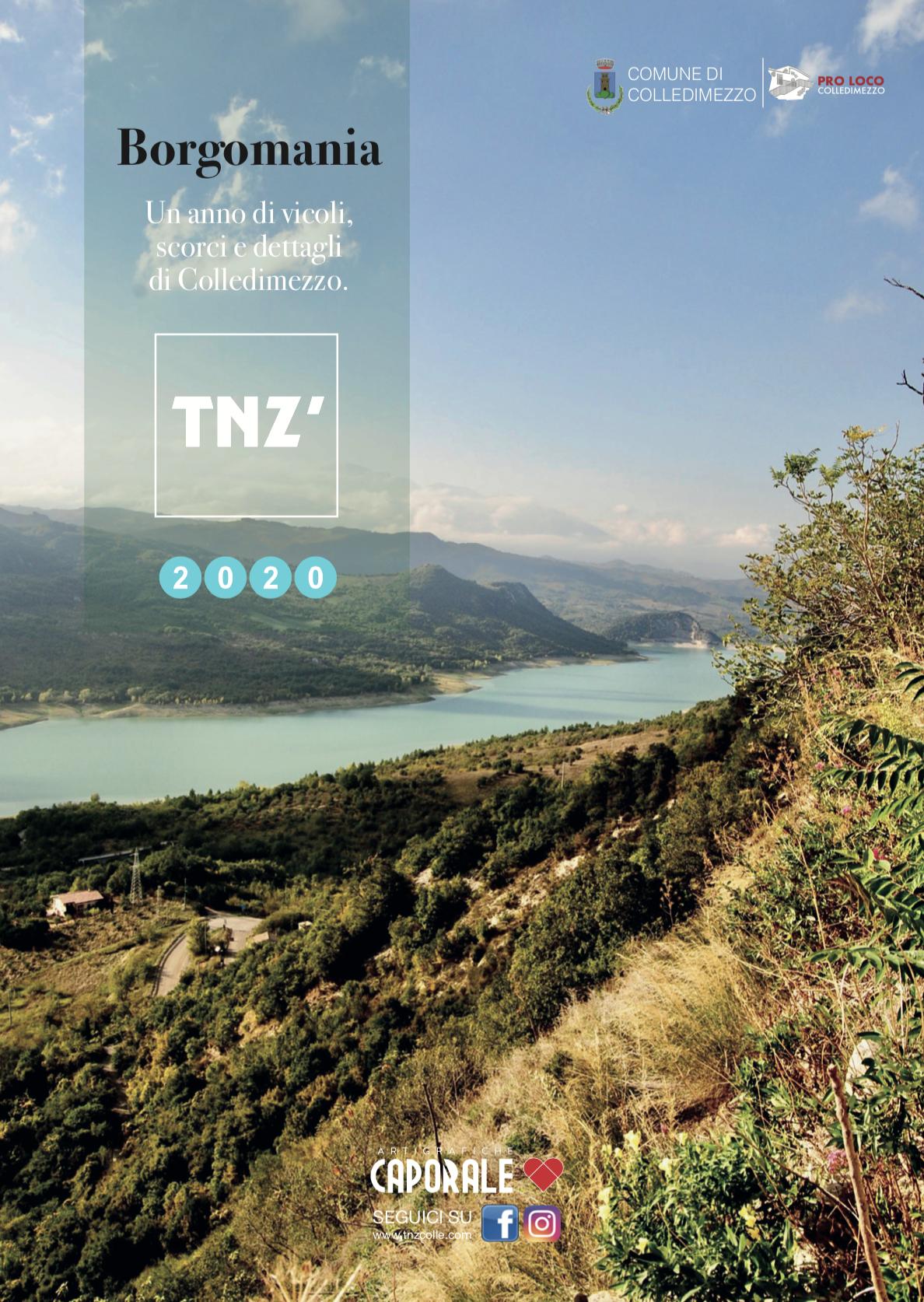 Cover BORGOMANIA 2020
