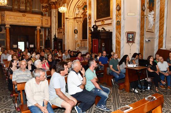 Il pubblico all'evento
