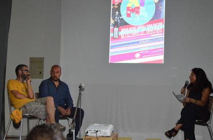 """Presentazione dell'evento  """"Urban painting"""" in Atessa del progetto """"Atessa Museo Aperto dell'Associazione Atessa XXI secolo""""."""