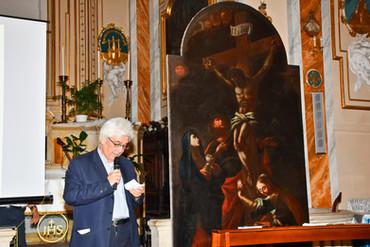 Don Cassio apre l'evento