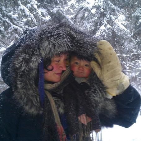 Se protéger du froid quand on porte son enfant