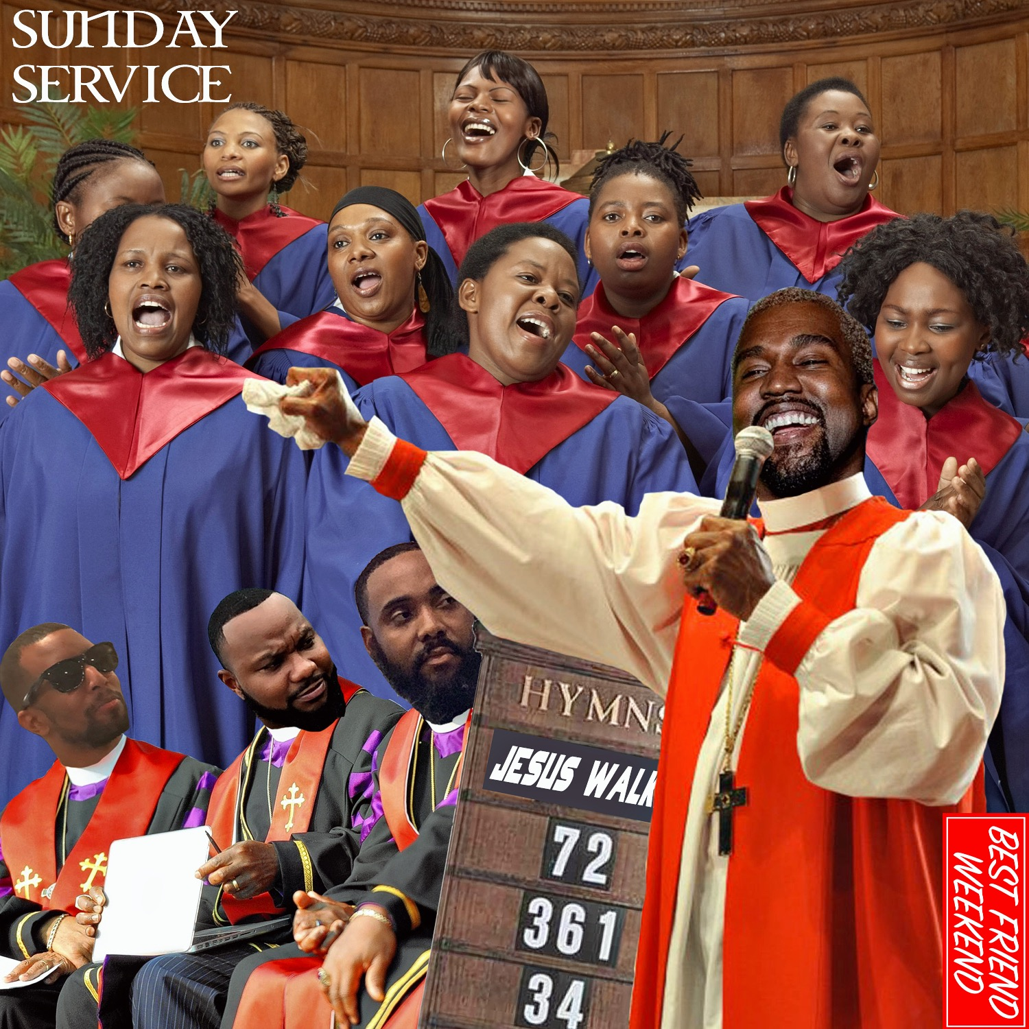 Sunday Service Cover