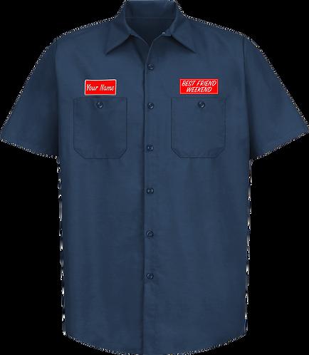 BFW Custom Work Shirt (Navy)