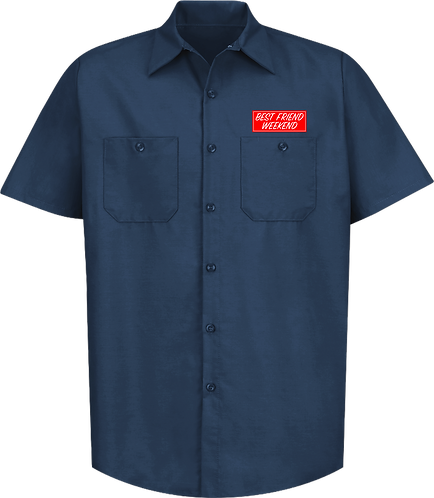 BFW Work Shirt (Navy)