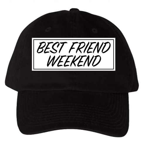 BFW Dad Hat (Spring Black & White)