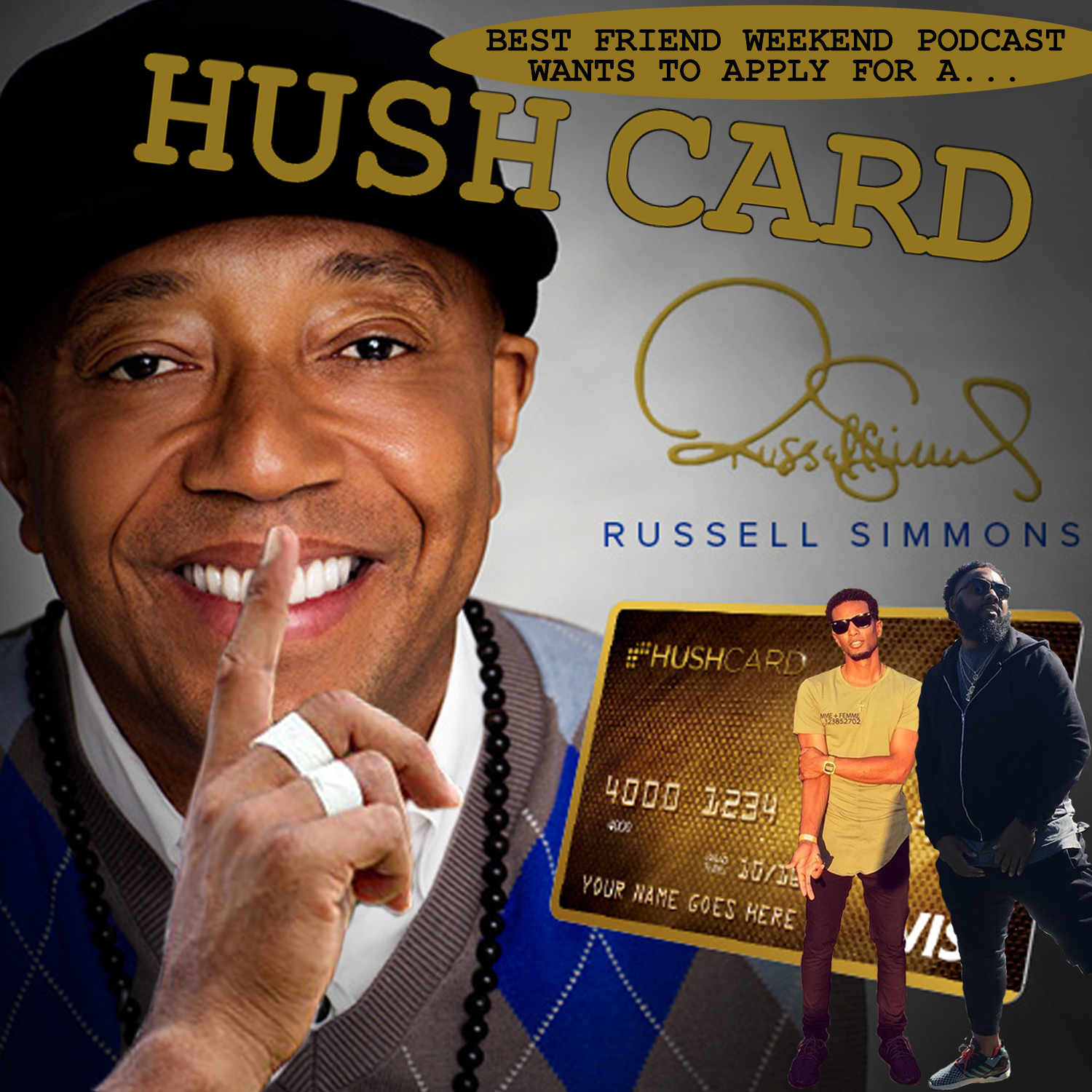 Hush Card Cover