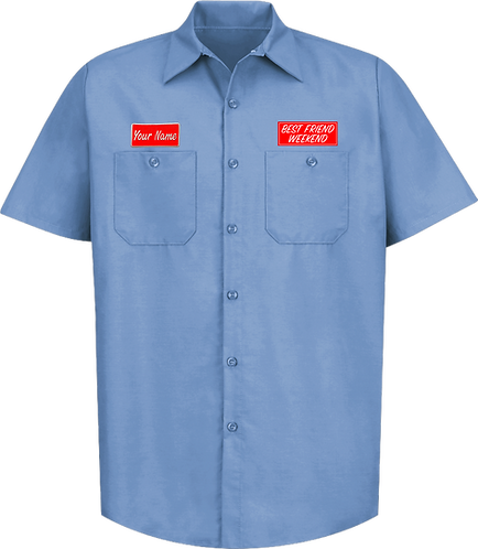 BFW Custom Work Shirt (Light Blue)