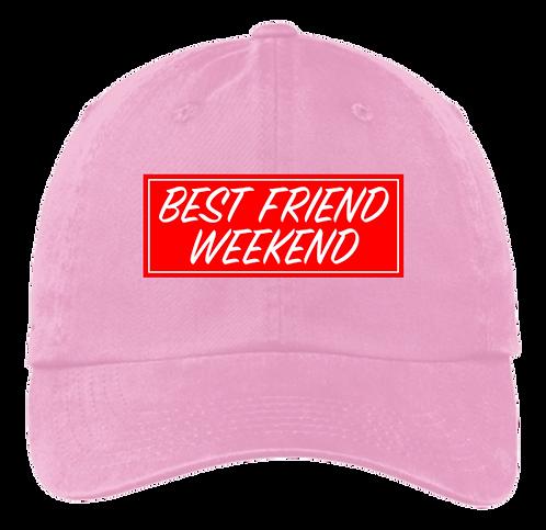 BFW Dad Hat (Fall Pink)