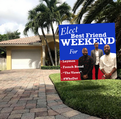 Elect Best Friend Weekend Cover