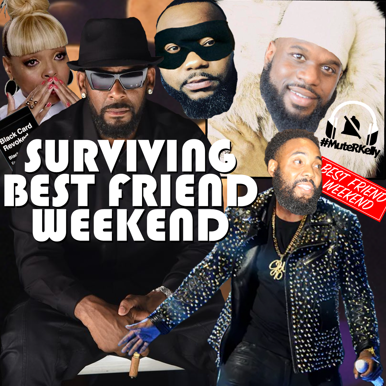 Surviving Best Friend Weekend Cover