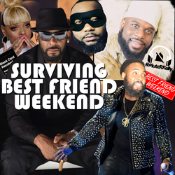 Surviving Best Friend Weekend Cover