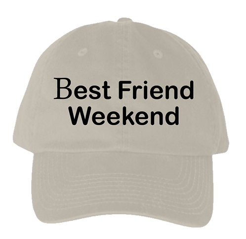 BFW Dad Hat (Khaki/Black)