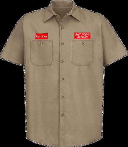 BFW Custom Work Shirt (Khaki)