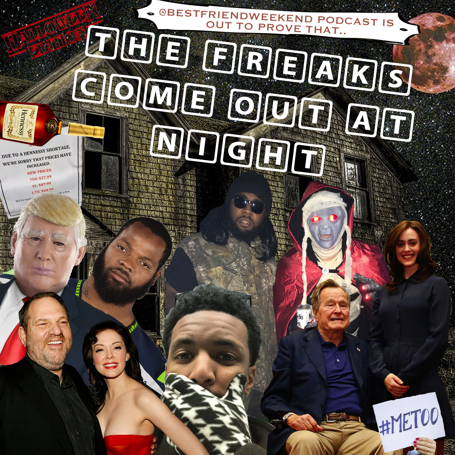 The Freaks Come Out At Night Cover