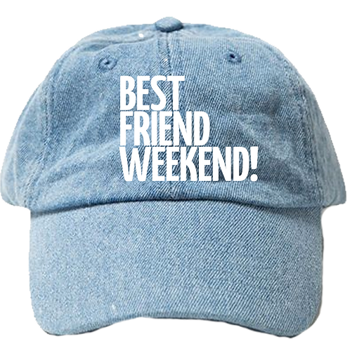 BFW Dad Hat (2020 Light Jean)