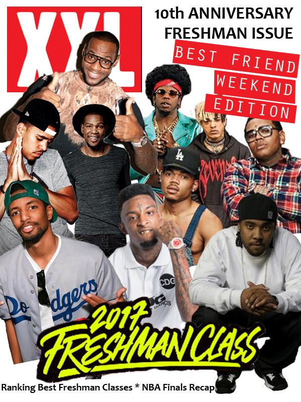 XXL Freshman Class Rap Talk Cover