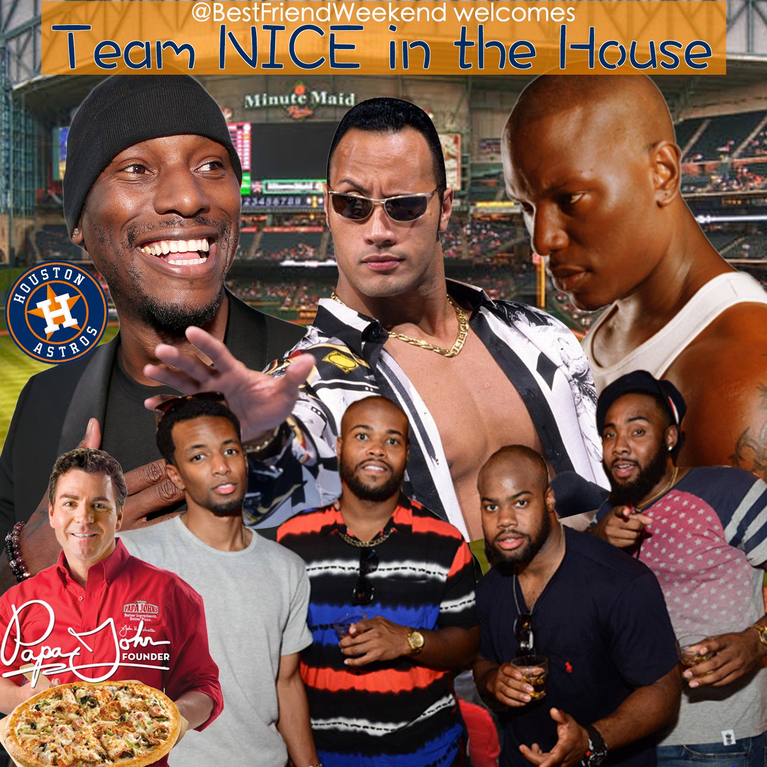 Team NICE is in the House Cover