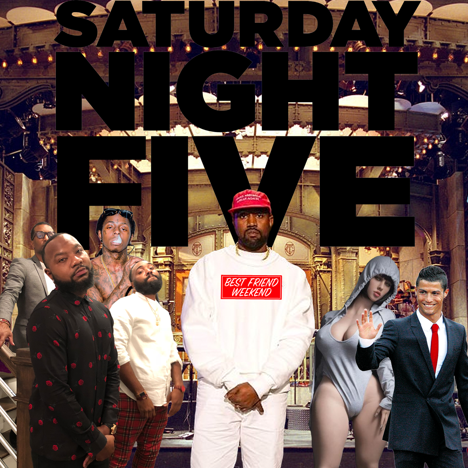 Saturday Night Five Cover
