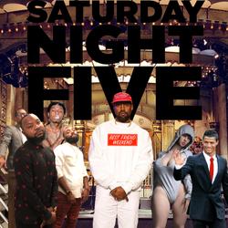 Saturday Night Five Cover