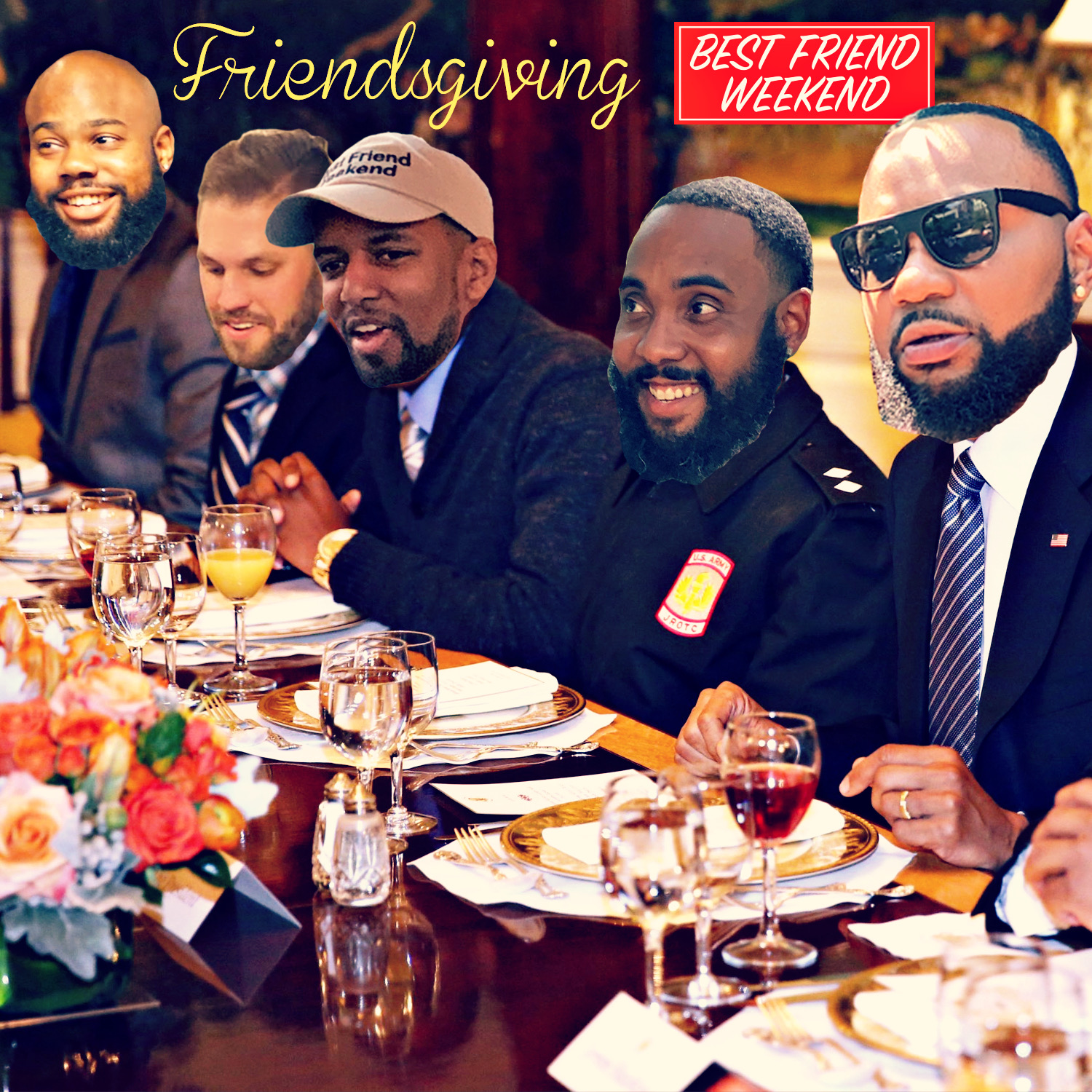 Friendsgiving Cover