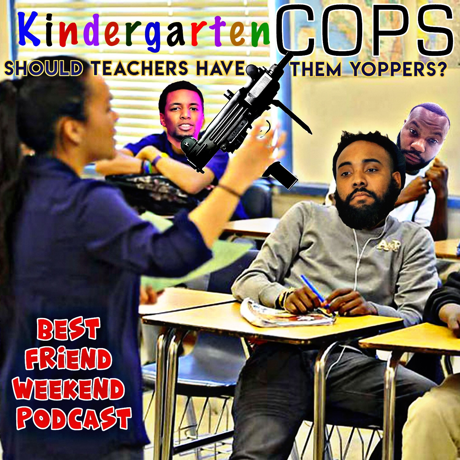 Kindergarten Cops Cover