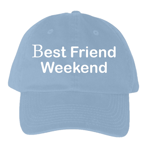 BFW Dad Hat (Carolina/All White)