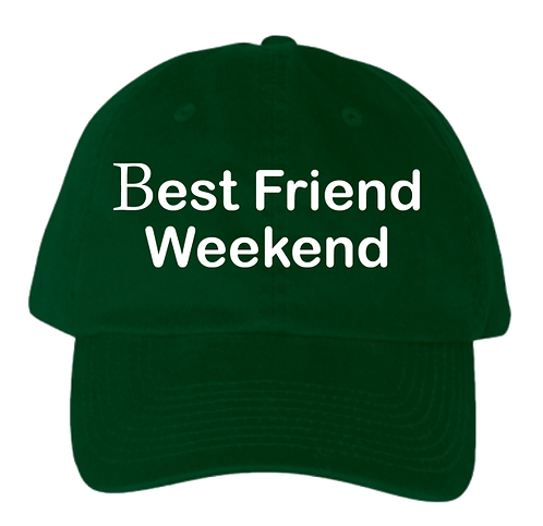 BFW Dad Hat (Green/White)
