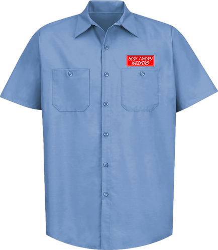 BFW Work Shirt (Light Blue)