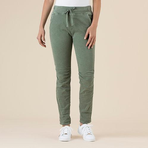 Threadz Tie Front Gathered Jeans