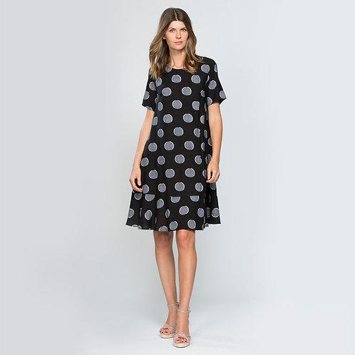 Clarity spot dress