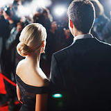 Couple on Red Carpet