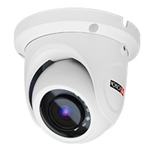 CAMARA MINIDOMO 2MP S-SIGHT, H.265, IR 15M(2 LED ARRAY), 3.6MM POE, ONVIF, DWDR,