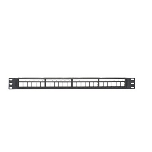 PATCH PANEL MODULAR DE 24 PUERTO VACIO, MARCA PANDUIT