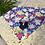 Thumbnail: Bandana: Blue Floral