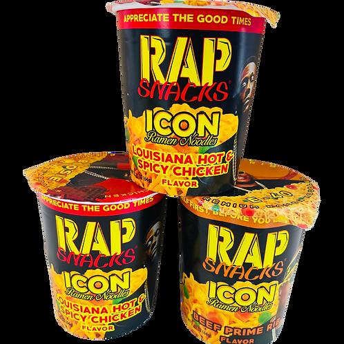 Rap Snacks Ramen Noodles