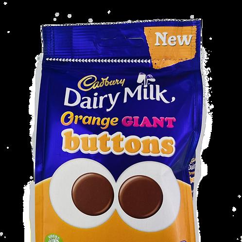 Cadburys Orange Giant Buttons