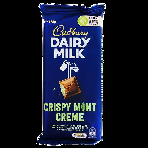 Cadbury's Crispy Mint Creme 180g