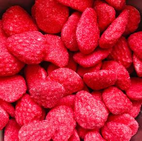 Foam Strawberries