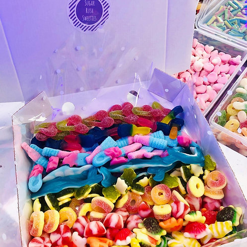 1kg Build Your Own Box - choose up to 10 sweets
