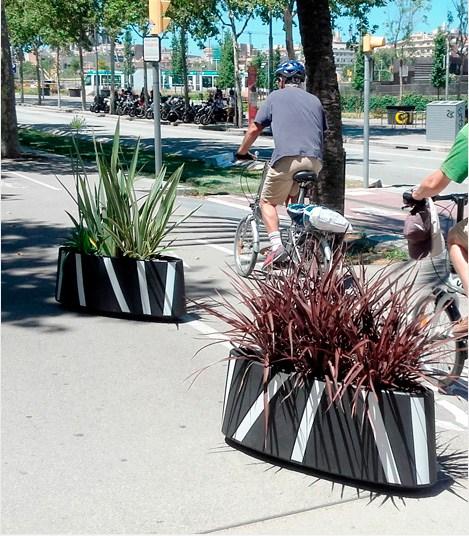 Jardinière Zebra