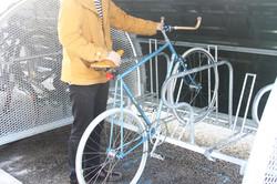 Hangar à vélo