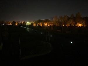 Une piste cyclable entièrement éclairée à l'énergie solaire à Saint-Eustache