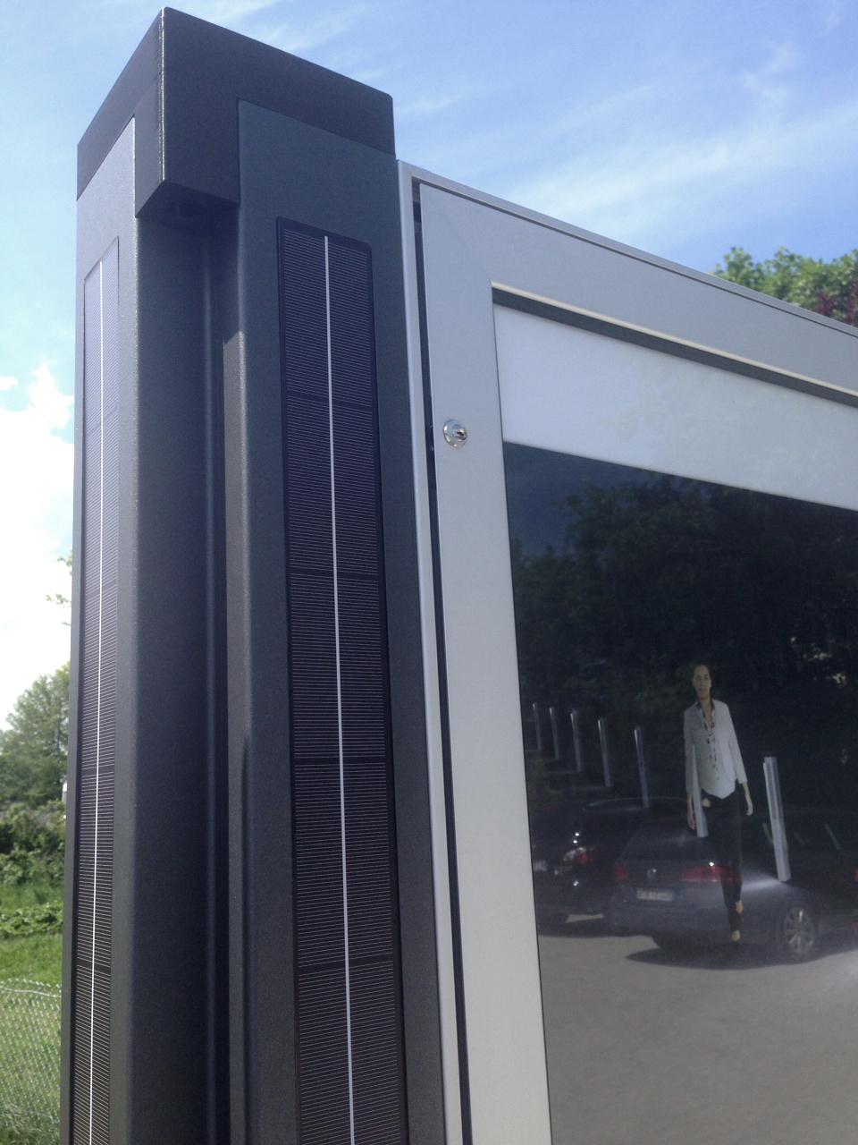 Panneau d'affichage Solarposter