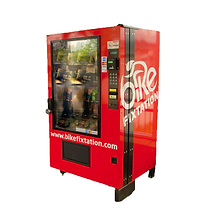 full size vending machine for bike products