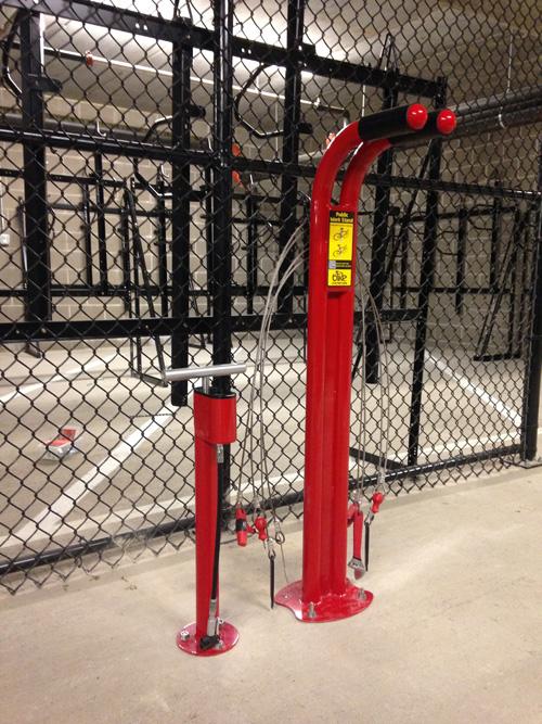Pompe à air intérieure pour vélo
