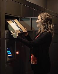smiota smart package lockers