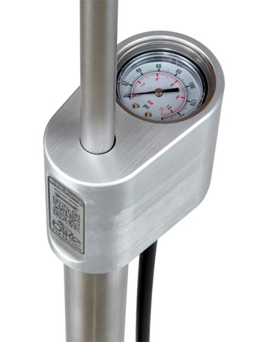Outdoor Pump with Gauge